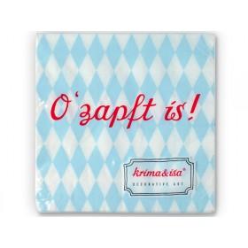 krima & isa paper napkins O' zapft is