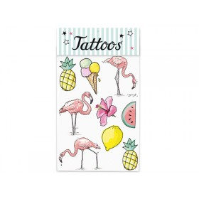 krima & isa tattoos tropical