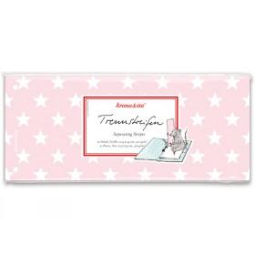 krima & isa separator card stars pink