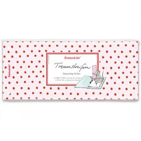 krima & isa separator card dabber dots pink