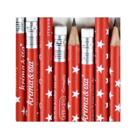 krima & isa Pencil RED STARS