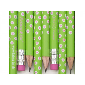 krima & isa Pencil GREEN SPOTS