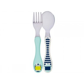 Lässig Children's cutlery Little Monsters BOUNCING BOB