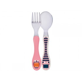 Lässig Children's cutlery Little Monsters MAD MABEL