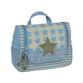 Mini wash bag with star for boys by Lässig
