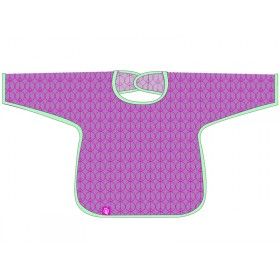 Long Sleeve bib in magenta by Lässig