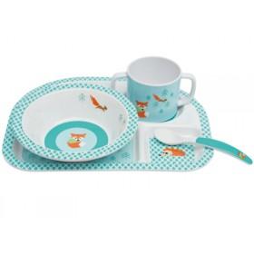 Lässig melamine tableware set Fox