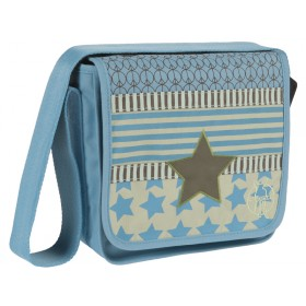 Messenger bag with star for boys by Lässig
