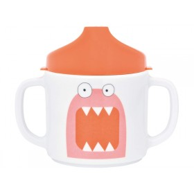 Lässig Melamine baby spout cup Little Monsters MAD MABEL