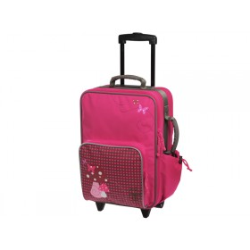 Lässig trolley with mushroom in magenta