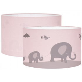 Little Dutch Hanging Lamp Silhouette ZOO pink