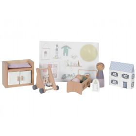 Little Dutch Dollhouse Baby Room