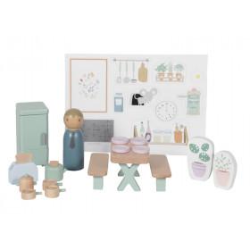 Little Dutch Dollhouse Kitchen