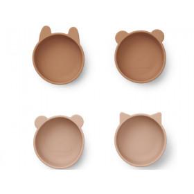 LIEWOOD Silicone Bowls IGGY tuscany rose mix