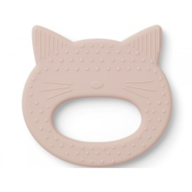 LIEWOOD Silicone Teether Gemma CAT light pink