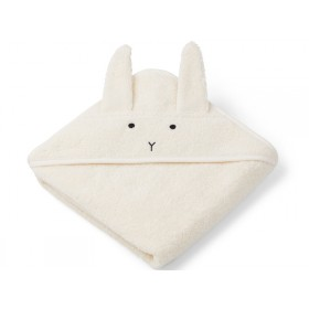 LIEWOOD Hooded Towel Baby Albert BUNNY cream