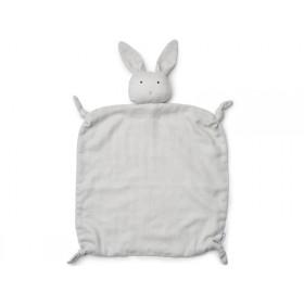 LIEWOOD Cuddle Cloth Agnete BUNNY grey