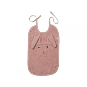 LIEWOOD Bib Theo BUNNY old rose