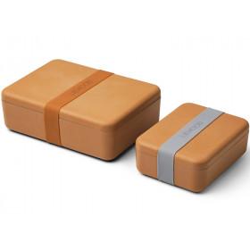 LIEWOOD Lunchbox Set BRADLEY mustard