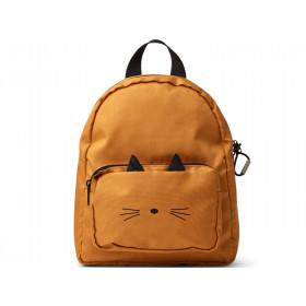 LIEWOOD Kids Backpack Allan CAT mustard 3-6