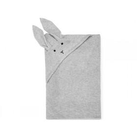 LIEWOOD Knit Blanket Marley BUNNY grey