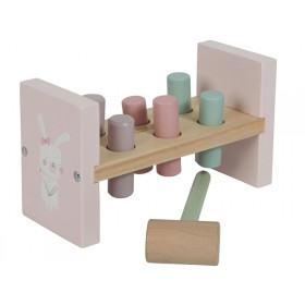 Little Dutch Hammer Bench PINK