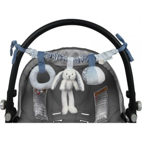 Little Dutch car seat toy blue