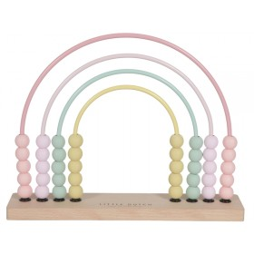 Little Dutch Bead Maze RAINBOW pink