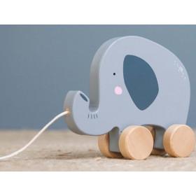 Little Dutch Pull along Toy ELEPHANT