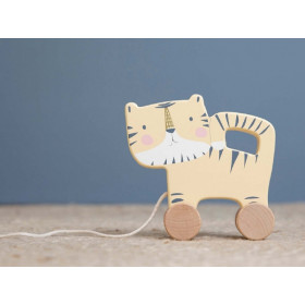 Little Dutch Pull along Toy TIGER