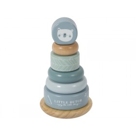 Little Dutch Ring Stacker BEAR blue