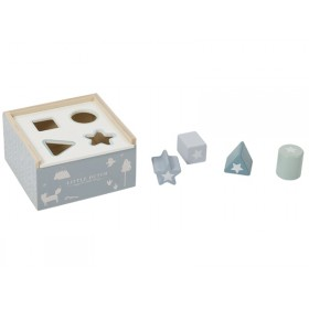 Little Dutch Shape Sorter Cube BLUE