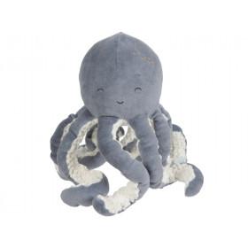 Little Dutch Cuddly Toy Ocean OCTOPUS blue