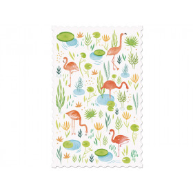Londji postcard FLAMINGOS