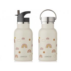 LIEWOOD Water Bottle Anker RAINBOW LOVE sandy