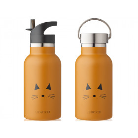 LIEWOOD Water Bottle Anker CAT mustard