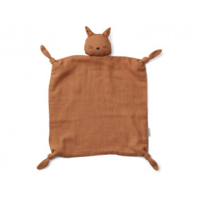 LIEWOOD Cuddle Cloth Agnete CAT terracotta