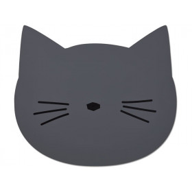 LIEWOOD Placemat Aura CAT dark grey