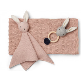 LIEWOOD Knit Gift Set Petra BUNNY old rose