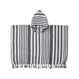 LIEWOOD Poncho ROOMIE navy/cream 4-6