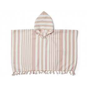 LIEWOOD Poncho ROOMIE old rose/cream 4-6