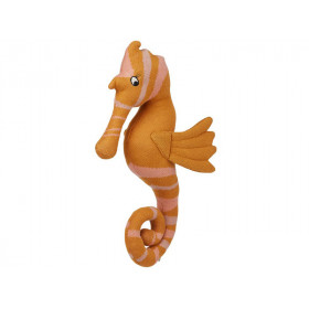 LIEWOOD Knitted Toy Tilly Teddy SEAHORSE mustard
