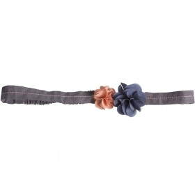 Maileg Hair Band Fluff Flowers blue and melon