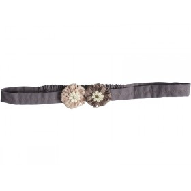 Maileg Hair Band Big Flower dusty rose