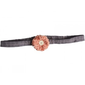 Maileg Hair Band Fluff Flower melon