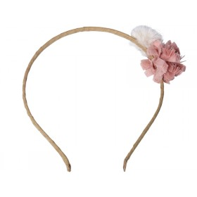 Maileg Hairband gold-rose