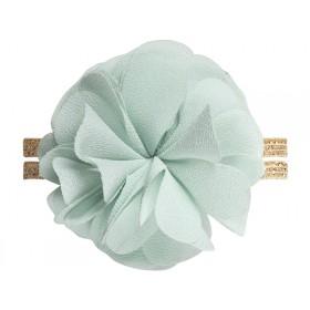 Maileg Chiffon Flower Elastic mint