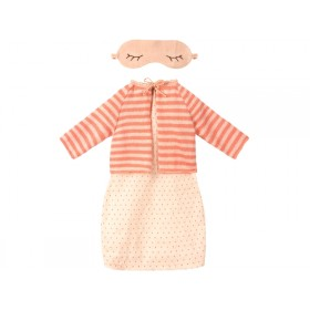 Maileg DRESS with CARDIGAN Best Friends coral