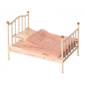 Maileg DOLL BED for Mouse offwhite