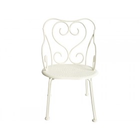 Maileg Metal CHAIR for Mini, Micro & Ginger offwhite